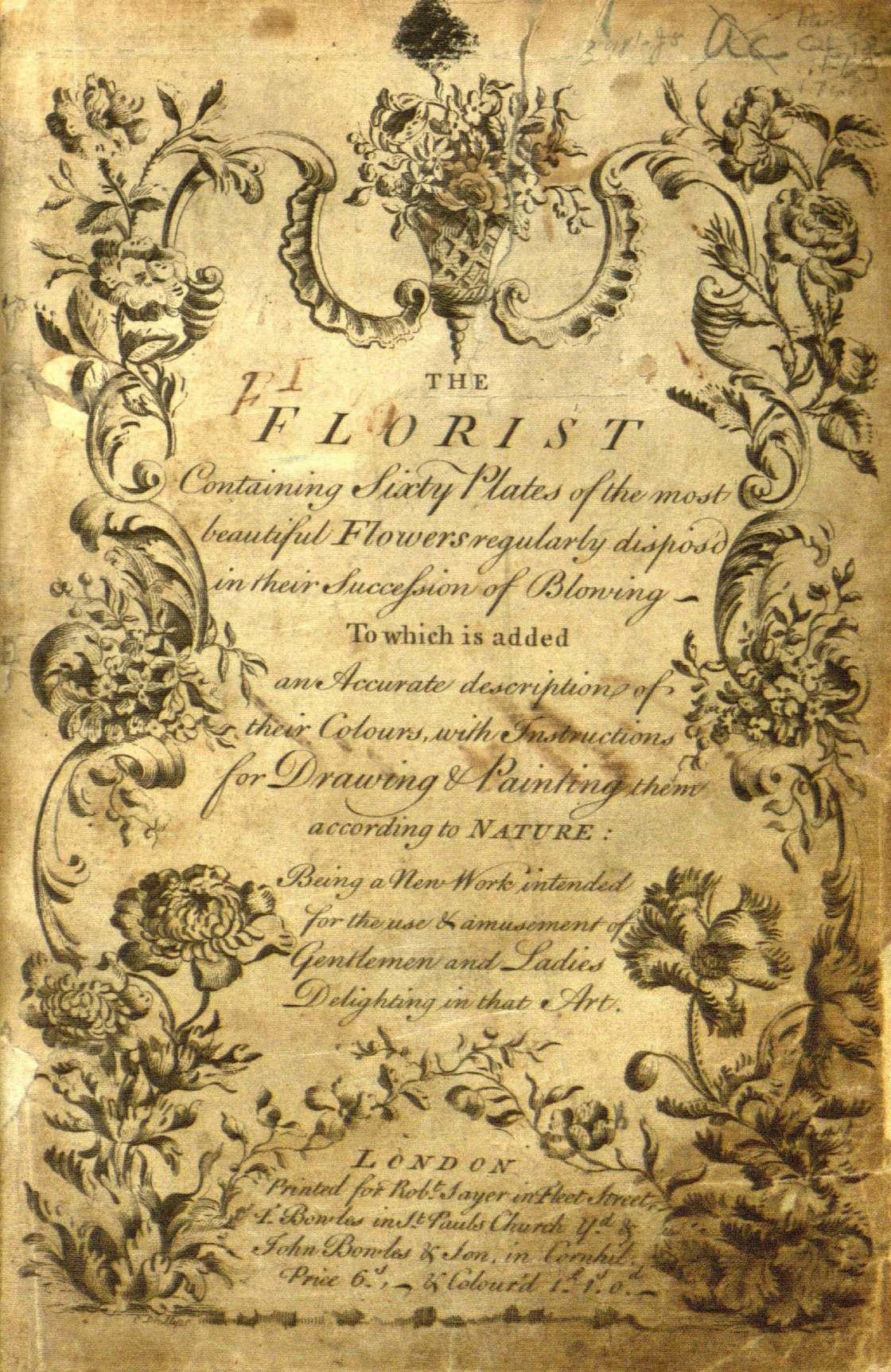 Le premier livre de coloriages date de 1760 et il est pour les adultes ! (15 pics)