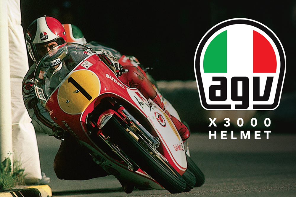 AGV Legends Collection: мотошлем AGV X3000