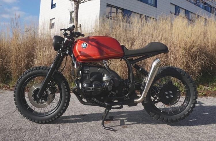 Cafe Racer SSpirit: скрэмблер BMW R100R