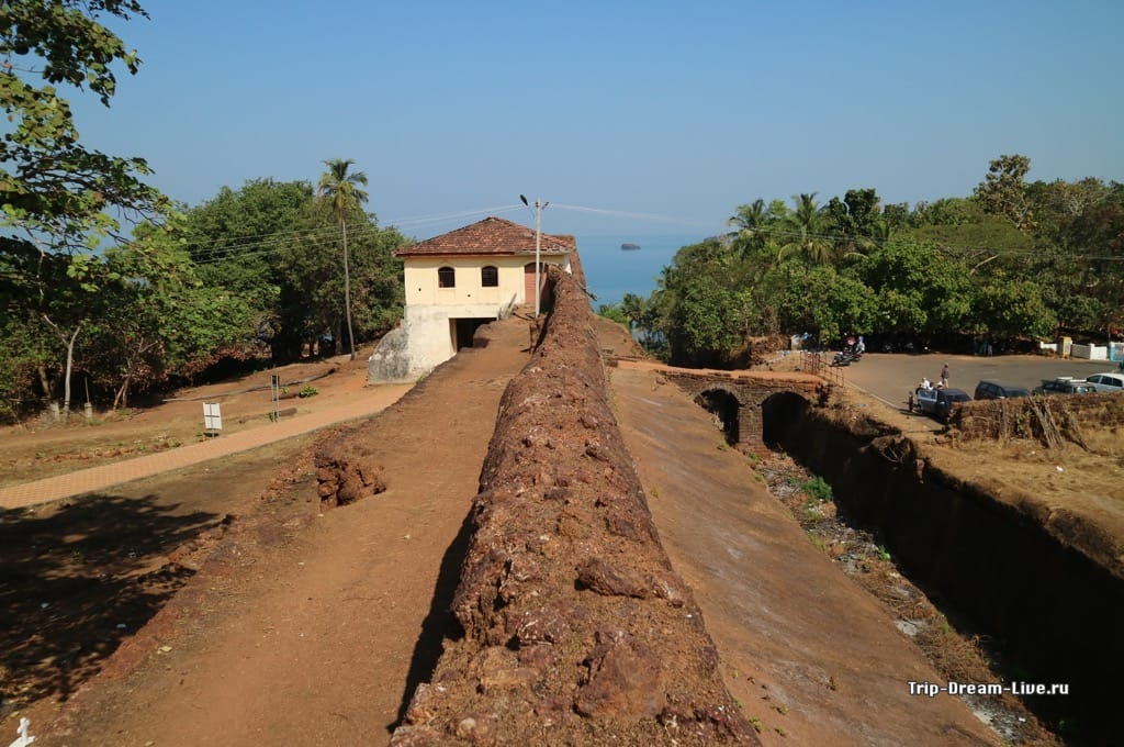 Форт Кабо де Рама в Южном Гоа