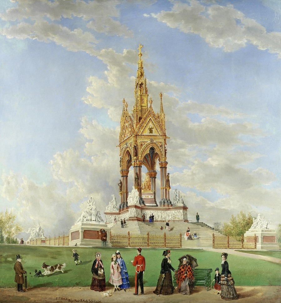 The Albert Memorial, London.Jpeg
