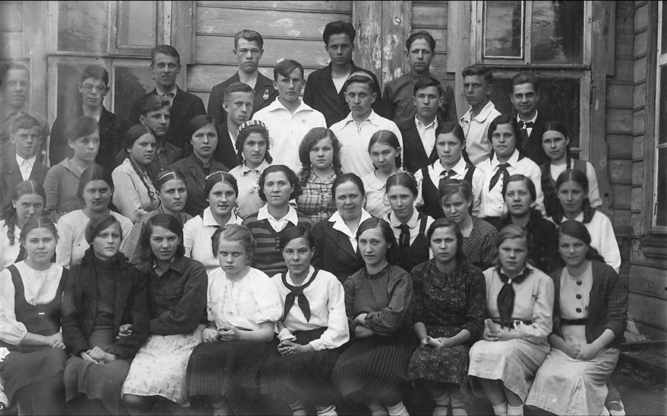 1940. Хор. Школа № 12
