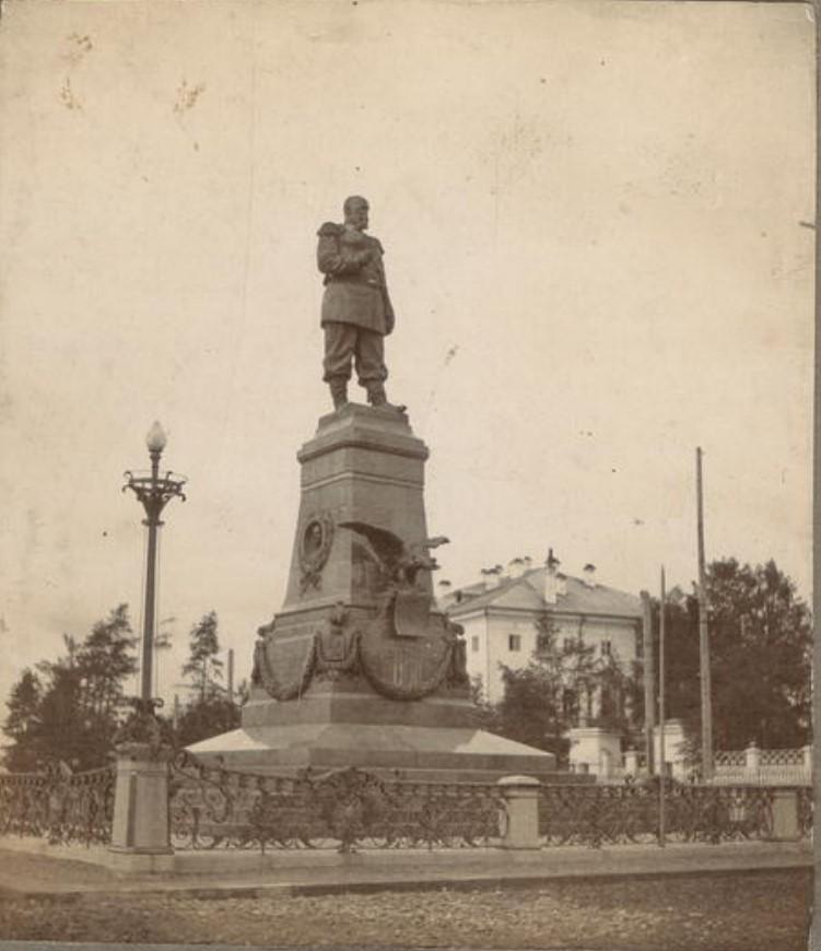 Памятник Александру III. 1911