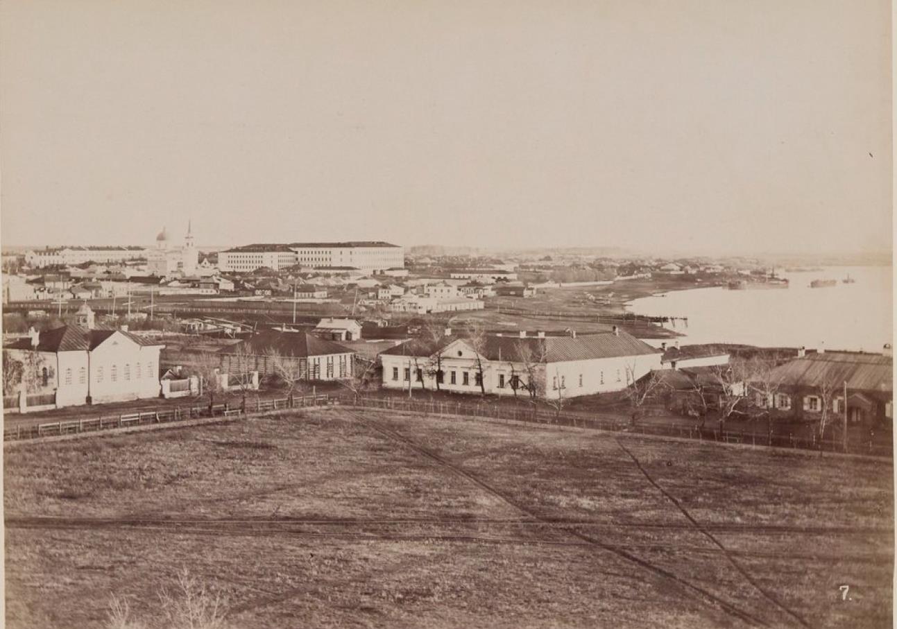 Омск. Вид от крепости
