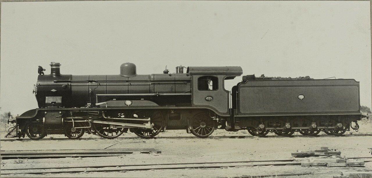 1910-1920. Локомотив компании «North British Locomotive Company» из Глазго