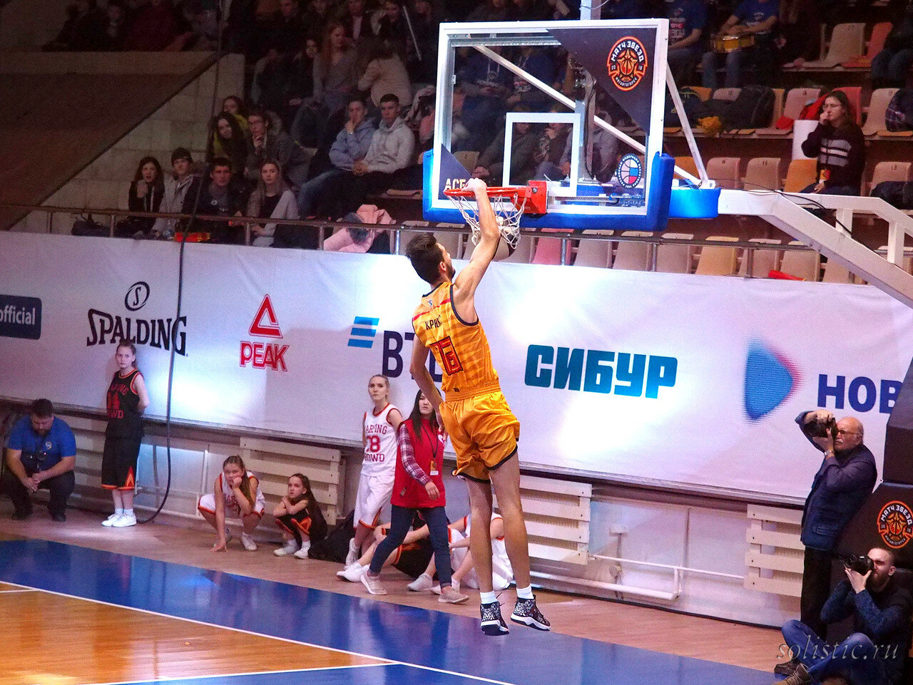 112 Матч звезд АСБ 2018 (ассоциации студенческого баскетбола)