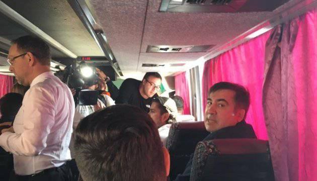 В поезде «Интерсити», где находится Саакашвили, посоветовали пассажирам воспользоваться автобусами — РНС