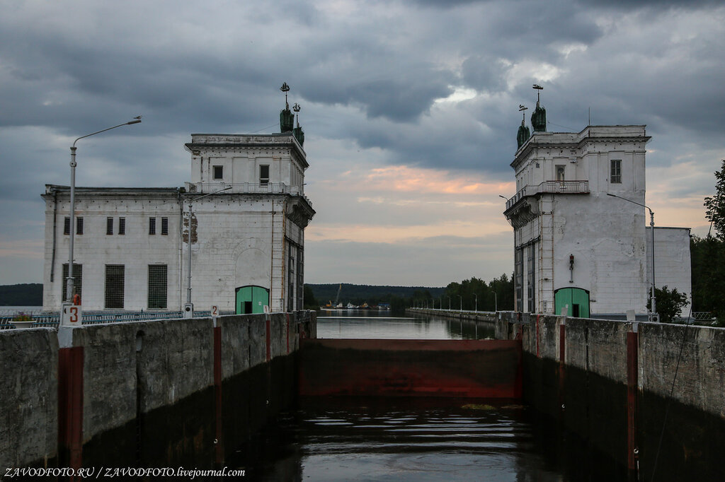 Шлюзы Волго-Балтийского канала