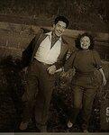 Édith Piaf et Jacques Pills. Эдит Пиаф с мужем Жаком Пилсом