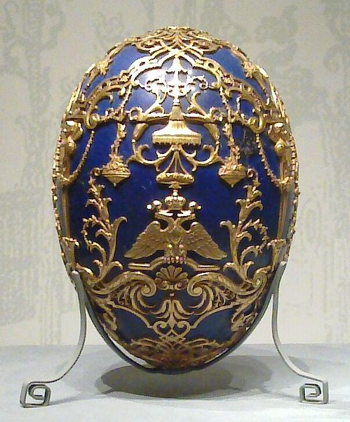 С Всемирным днем яйца. Яйцо Фаберже