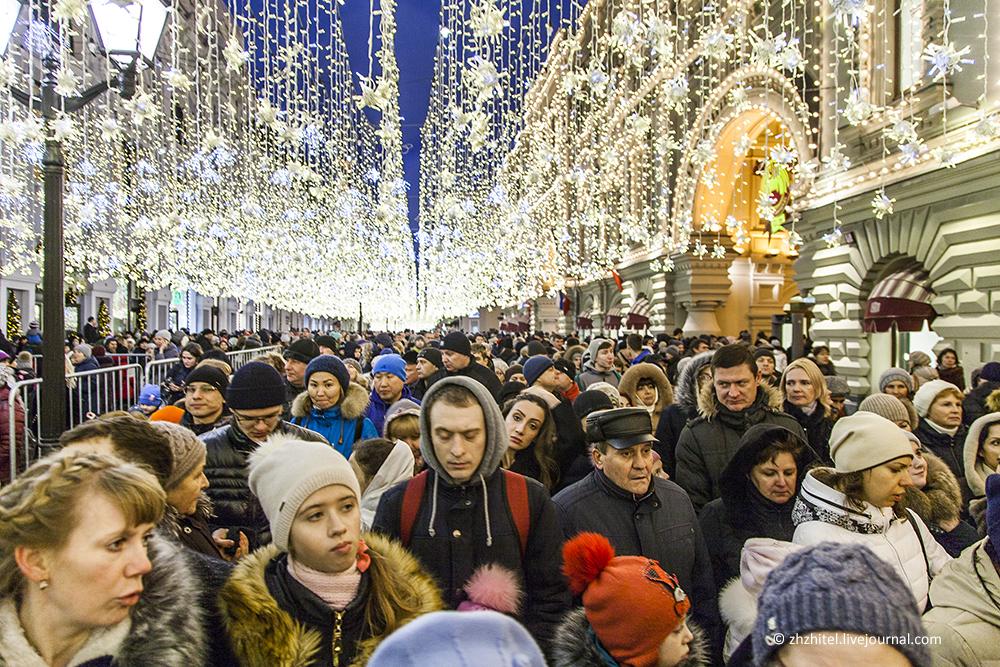 Москва постновогодняя