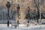 Снег, фонари, мороз