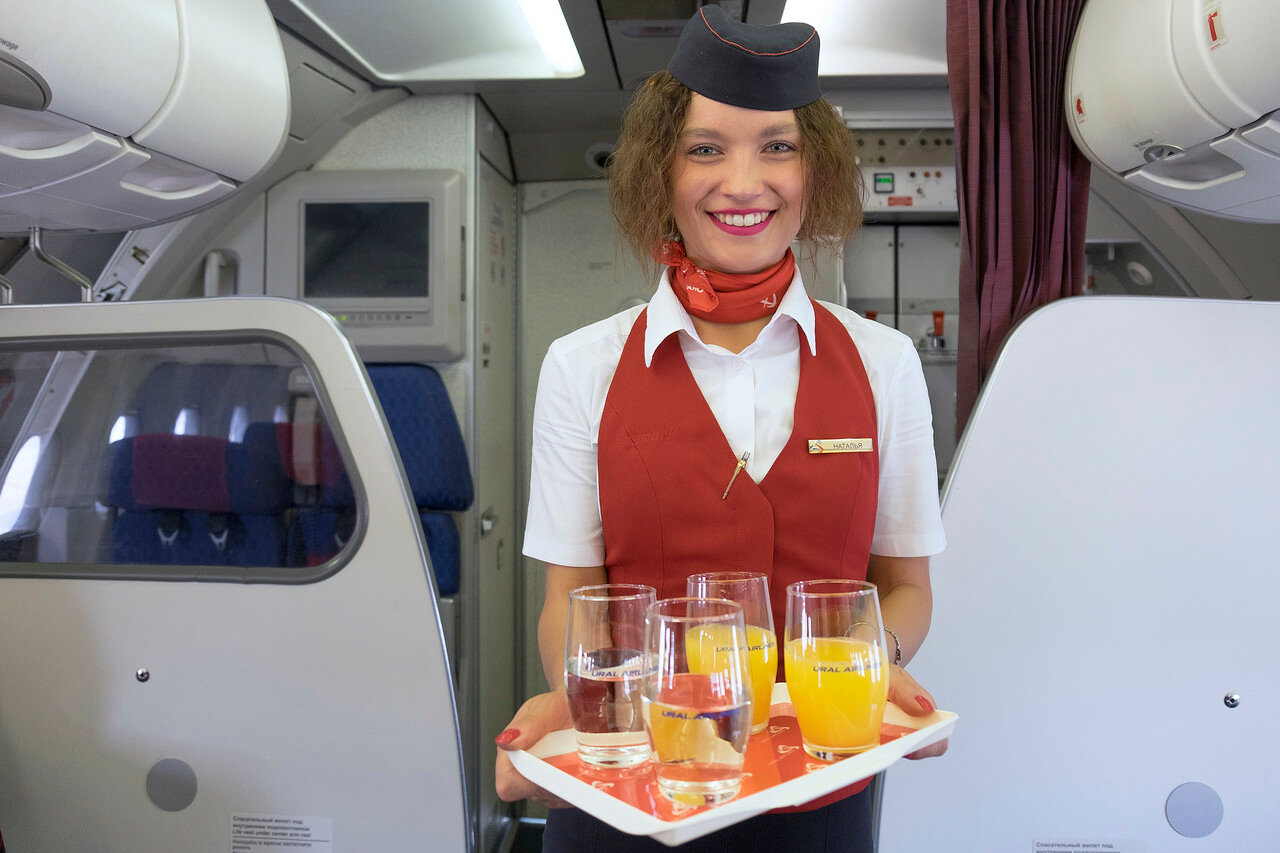 Бизнес-класс, Уральские авиалинии