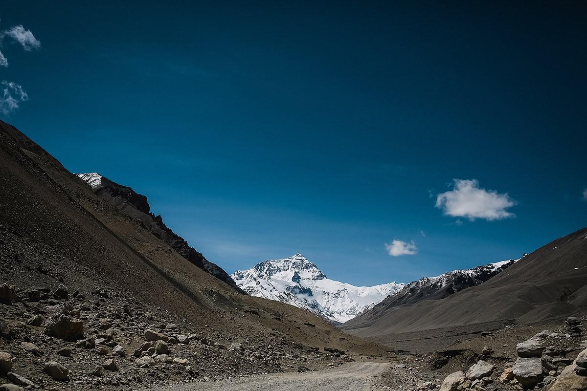 16. Вид на Эверест. Базовый лагерь все ближе!