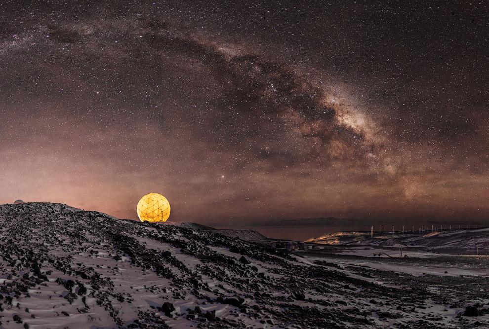 11. Пролив Лемэра — одно из самых популярных туристических направлений в Антарктике. Длина пролива —