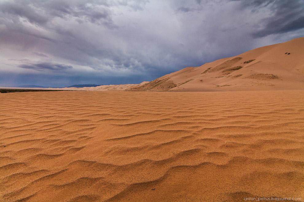 8. А буря тем временем приближалась. Традиционно принято считать, что в пустыне нет дождей. Но это н