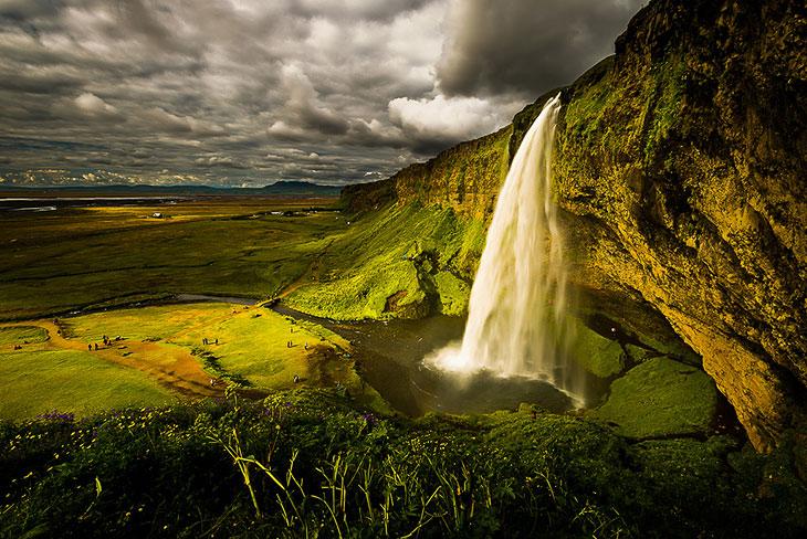 Водопады Исландии (35 фото)