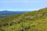 Вид с горы Кивакка.
