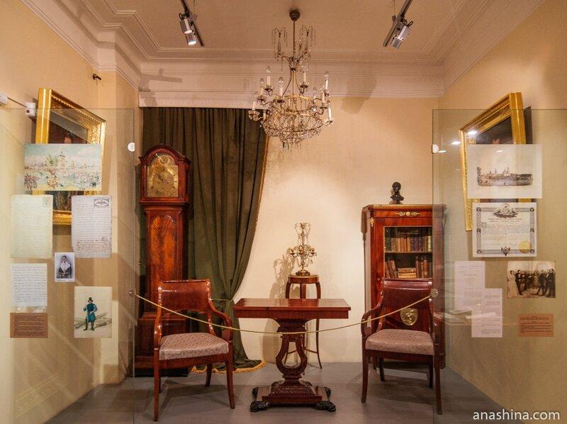 Экспозиция, посвященная началу XIX века, Вологда