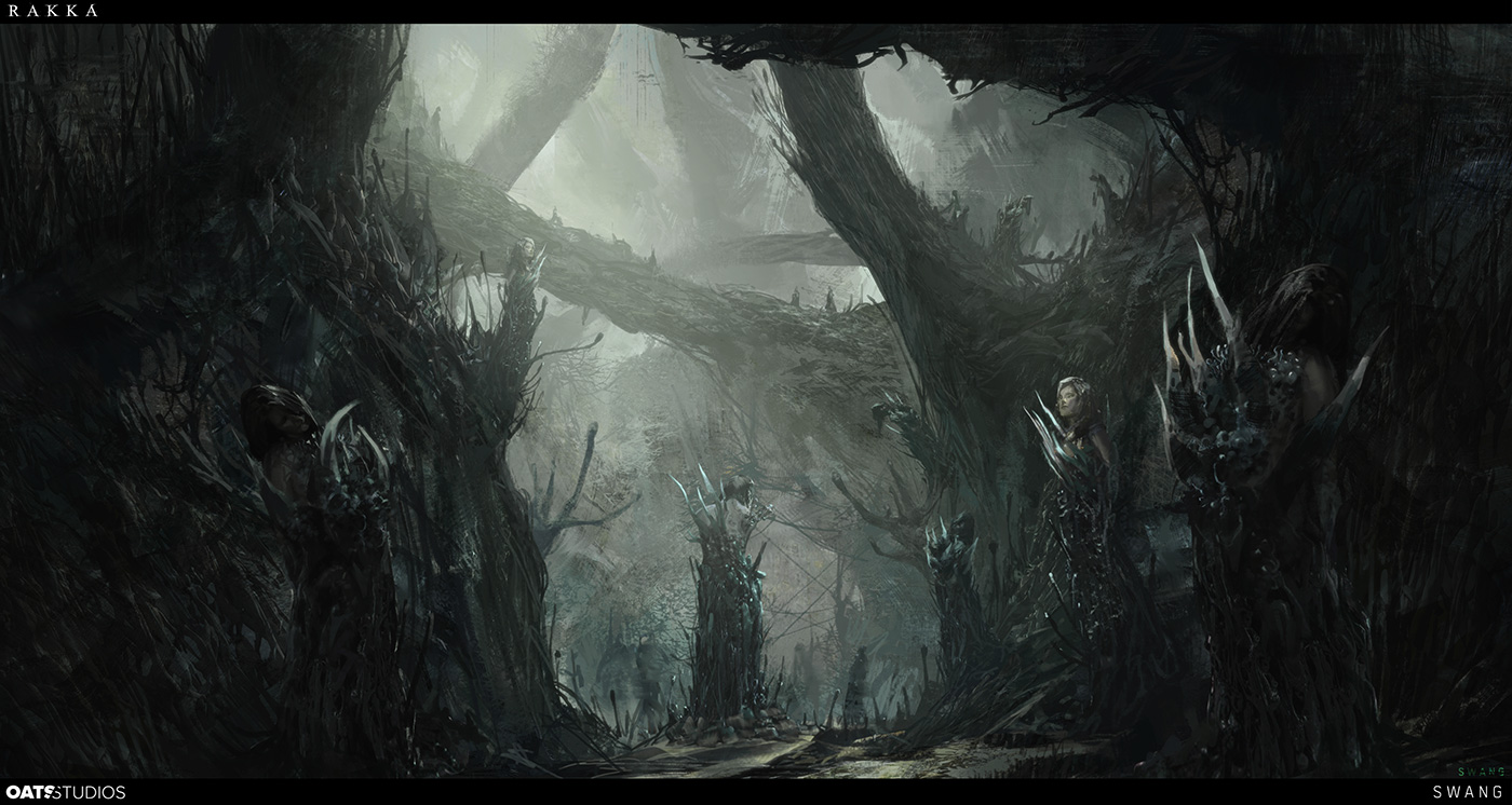 Rakka Short Film and Concept Art