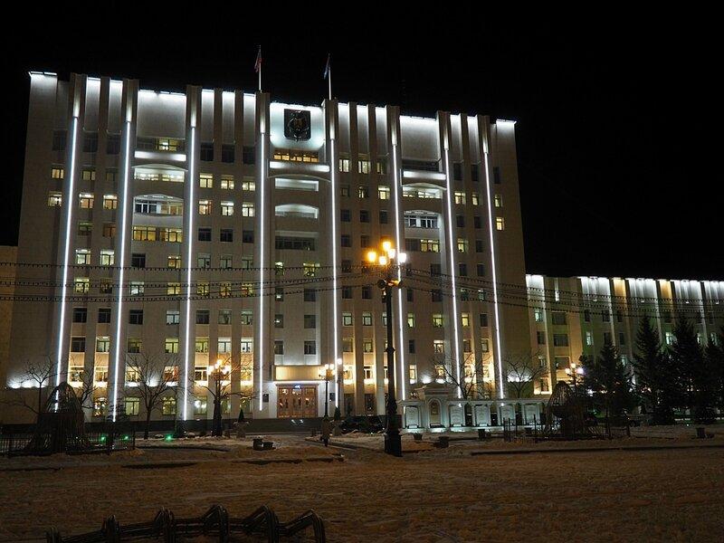 Хабаровск, площадь Ленина (Khabarovsk, Lenin Square)