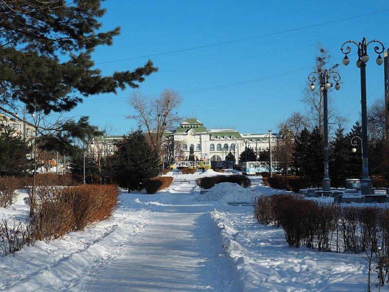 Хабаровск, вокзал (Khabarovsk, railway station)