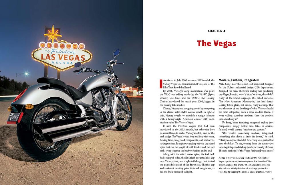 Книга Victory Motorcycles 1998-2017
