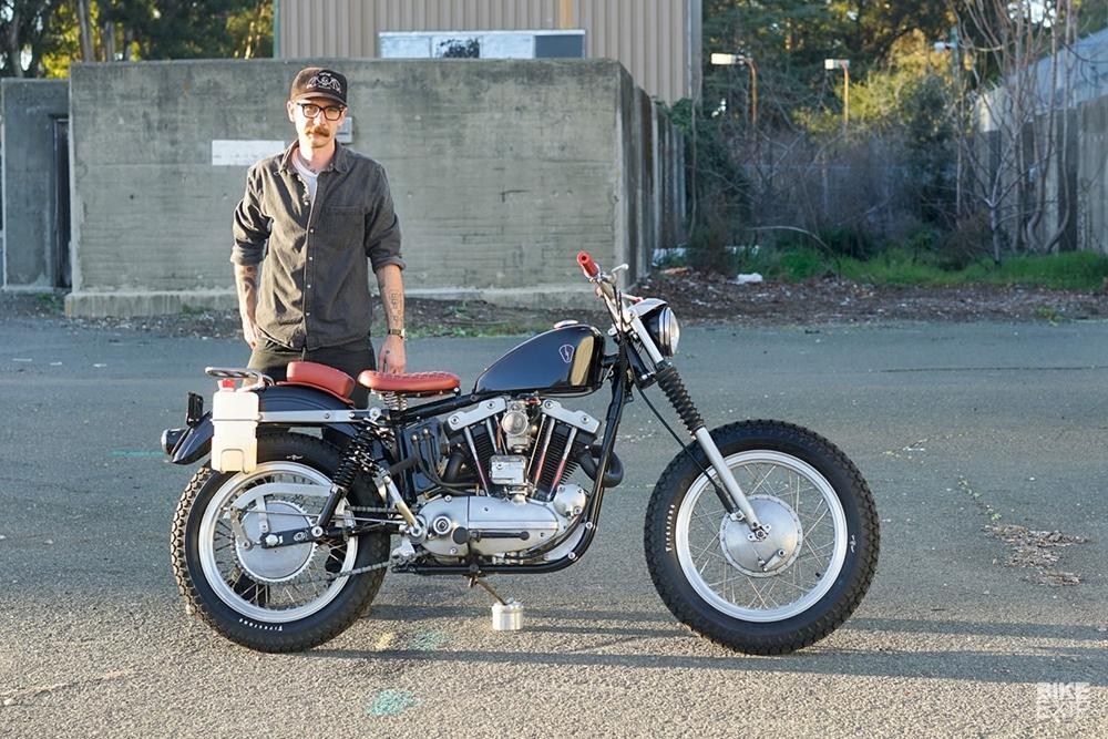 Blue Jack Studio: кастом Harley-Davidson XLCH Sportster