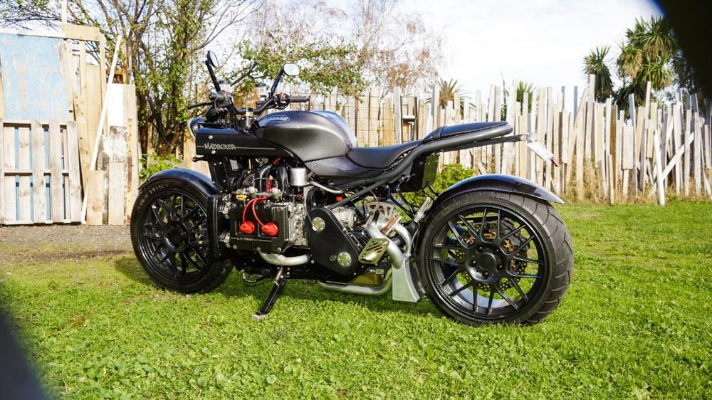мотоцикл с двигателем от субару фото