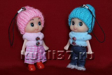 куклы-брелки ростом 8 см