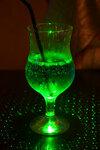 Зелёные брызги