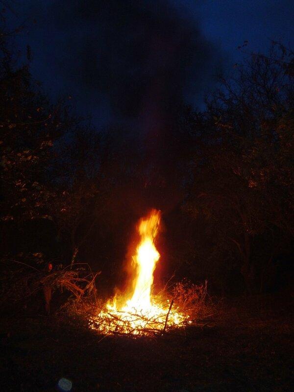 Ночь... у костра ... Октябрь. Суббота. В походных условиях (25).JPG