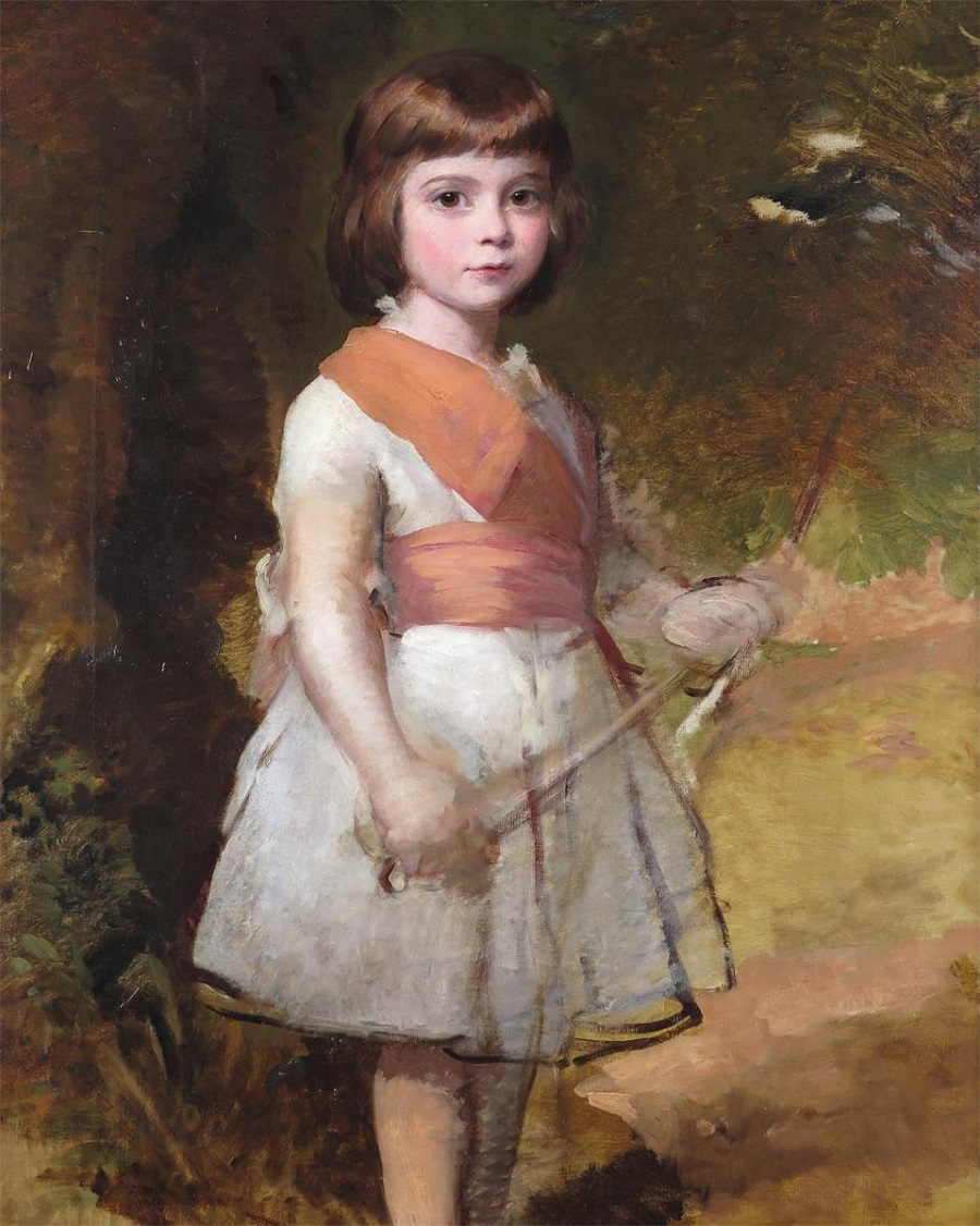 Самый младший сын художника, Джон, 1861.Jpeg