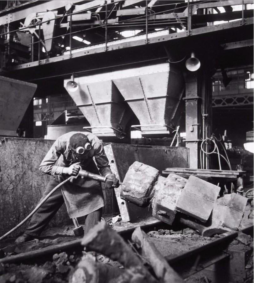 1950. На заводе Рено