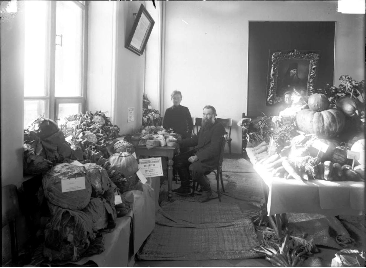 Первая выставка огородничества Фитасова (в доме братства Георгия)