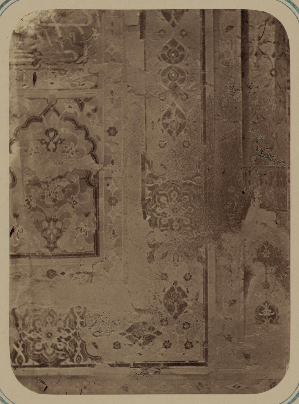 Мавзолей Айнэ-Ханэ (эмира Муссы). Часть отделки фасада