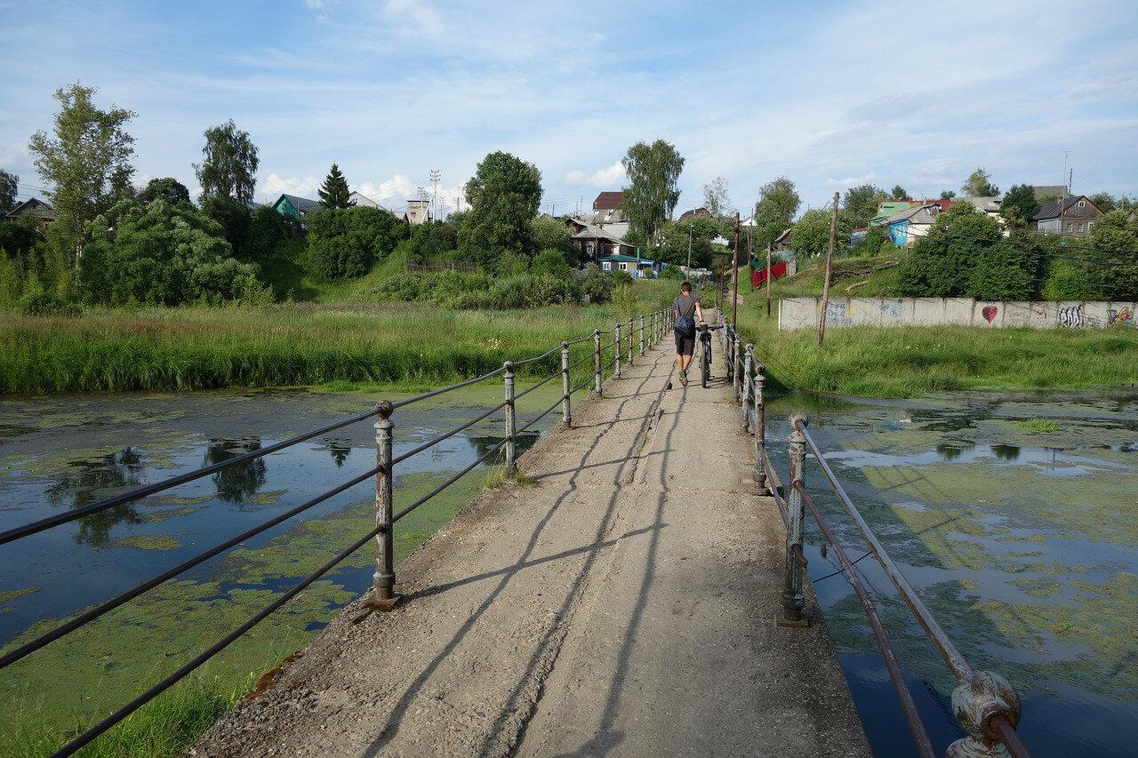 мост, река Серая