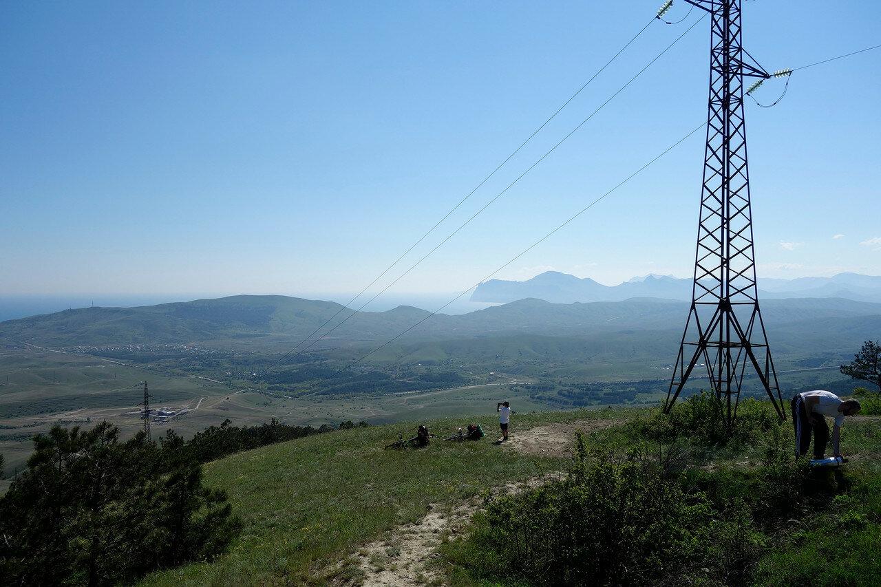 крайний восток Крымских гор
