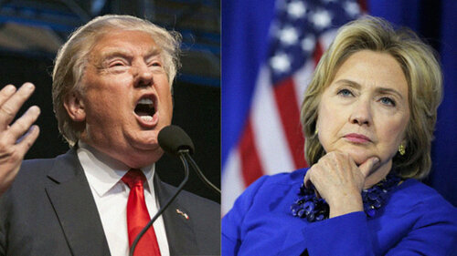 Трамп уверен в победе над своим соперником-Клинтон