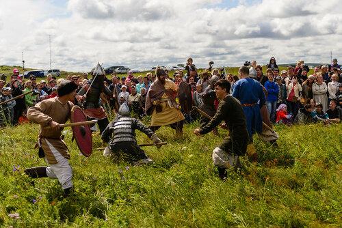 В Бельцах реконструируют сражения Средневековья