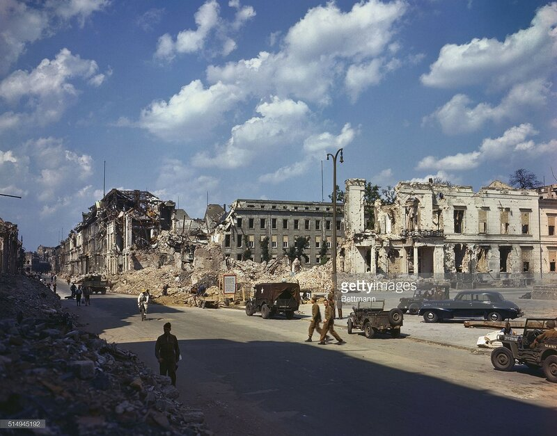 1945 Berlin ruins of the Propaganda Ministry, July 19.jpg
