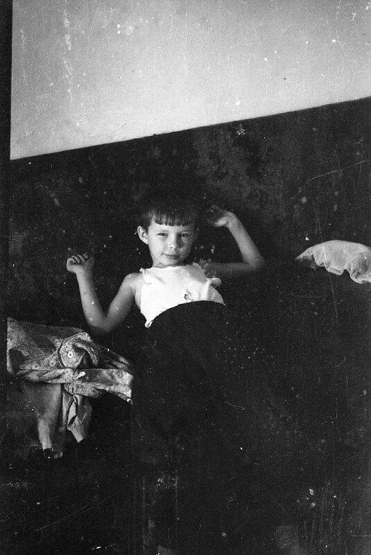 Мальчик. 1972год.