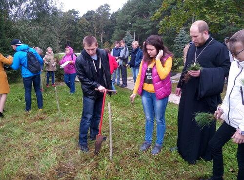"""Акция """"Наш лес. Посади своё дерево"""""""