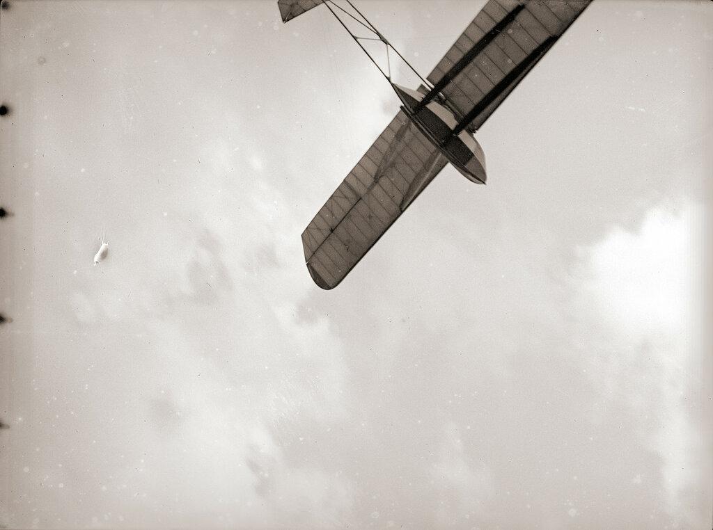 Glider Flyby, Kirigamine Japan 1930s