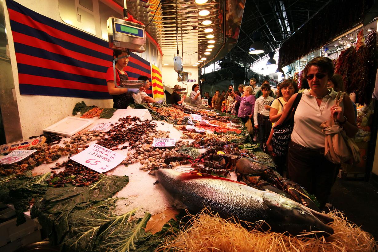 Самой популярной частью рынка считается мясной и рыбный отделы. Особую ценность здесь представля