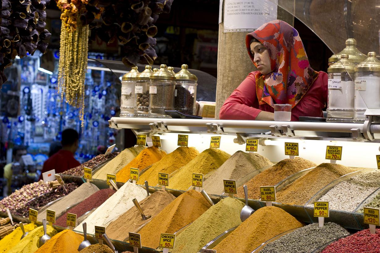 История рынка берёт своё начало с 1660 года. На его территории расположено более 80 магазинов. (