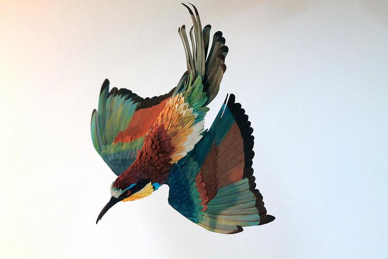 Бумажные скульптуры Дианы Эррера