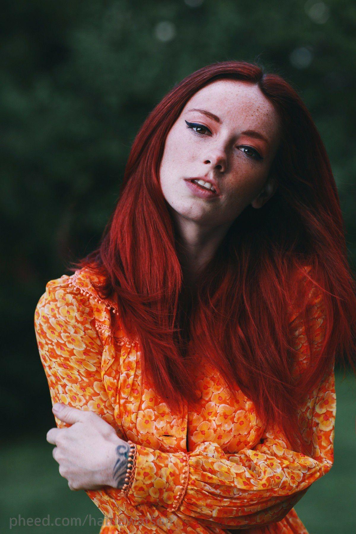 Красивые Рыжеволосые Девушки
