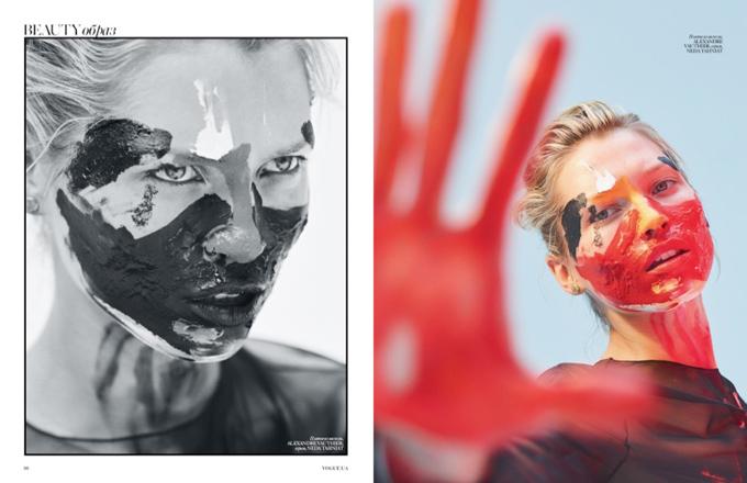 Ханна Жирикова в Vogue Ukraine