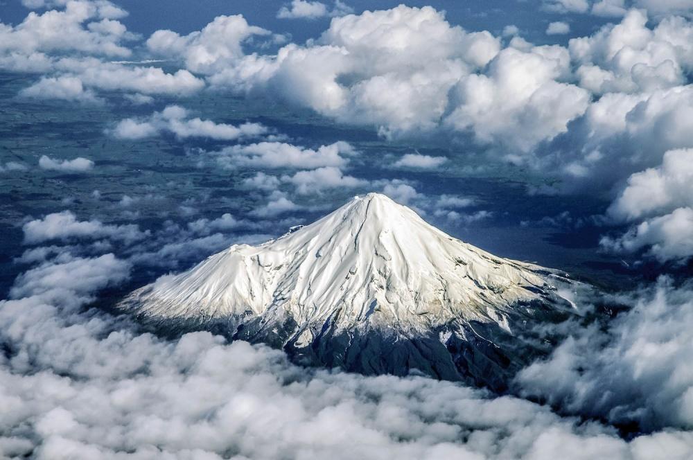 Вулкан Таранаки.